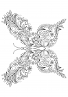 Patterned butterfly 1