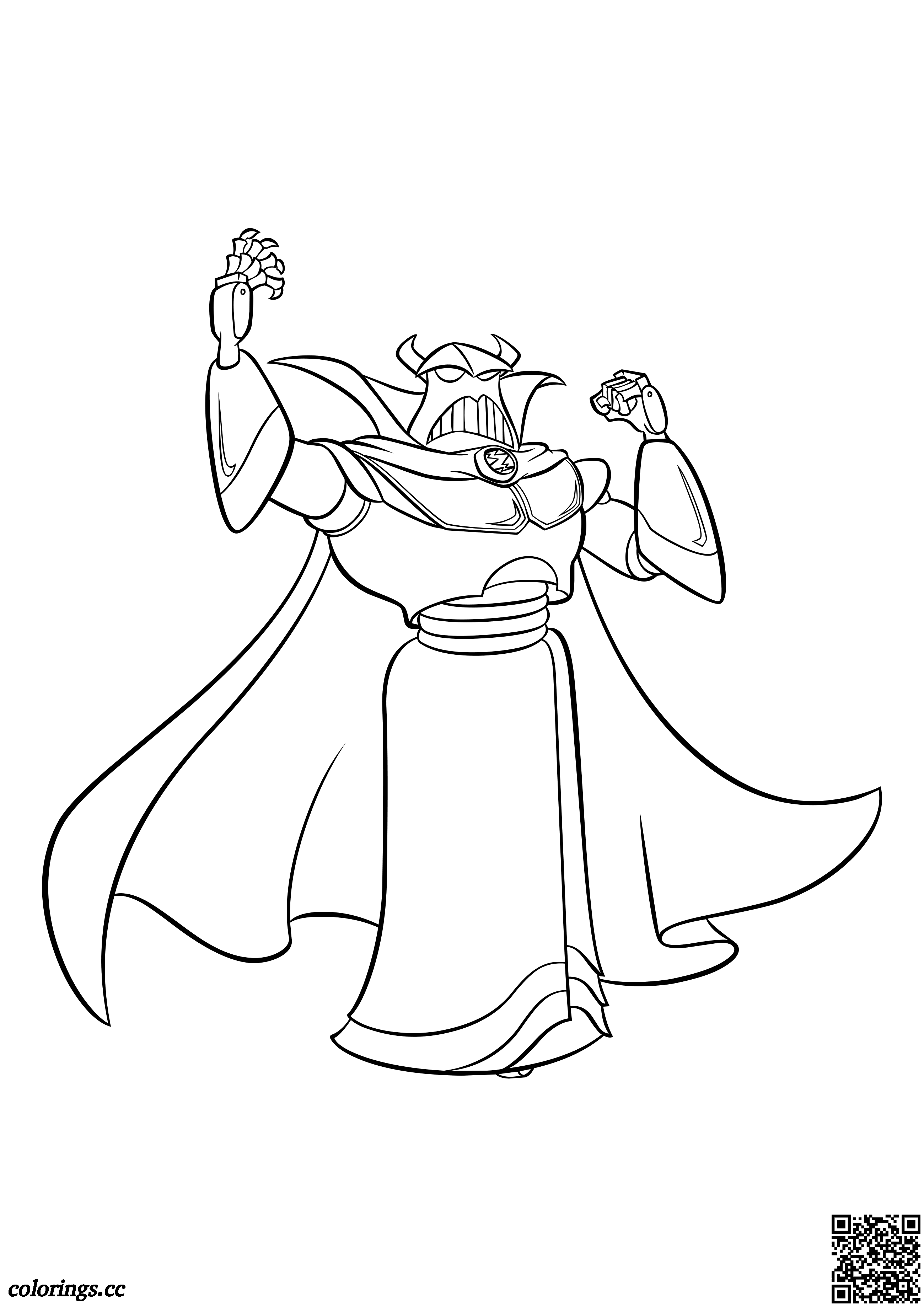 Emperor Zurg coloring pages, The history of toys coloring pages ...