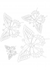 Patterned butterflies 2