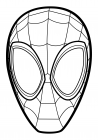 The mask of Spider-Man