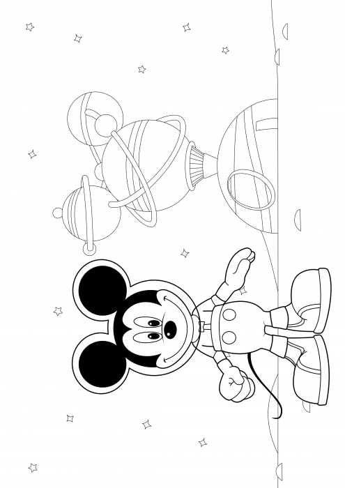 Mickey Mouse's Space Adventures